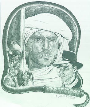 Indiana Jones by Jason McRoberts