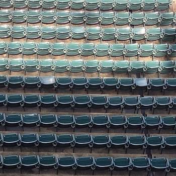 #indiansbaseball #seats #cleveland by Pete Michaud