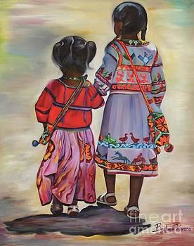 Indigenous Sisters - Nayarit by Barbara Rivera
