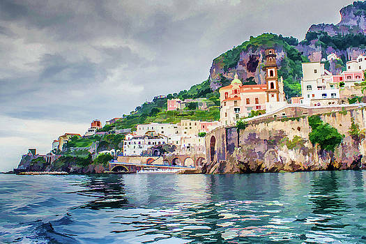 Lisa Lemmons-Powers - Indigo Blue Waters on Amalfi Coast