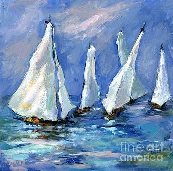 Indigo Seas by Sharon Furner