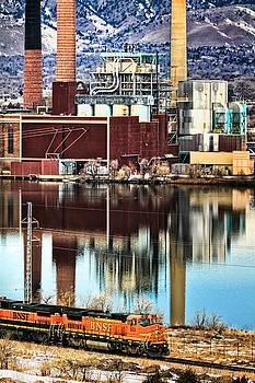 Industrial Train by Juli Ellen