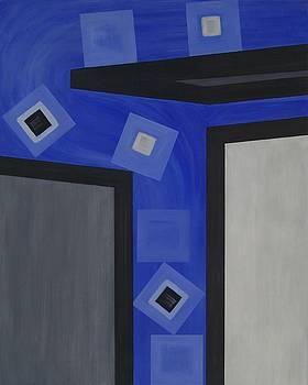 Industry 1 Blue Collar by Sandy Bostelman