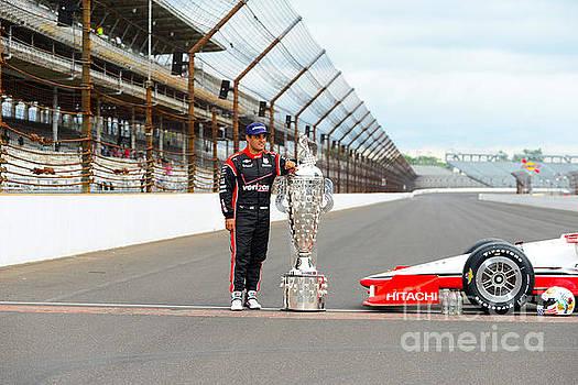 Indy 500 winner Juan Pablo Montoya by Rob Banayote