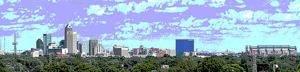 Indy Skyline by Rob Banayote