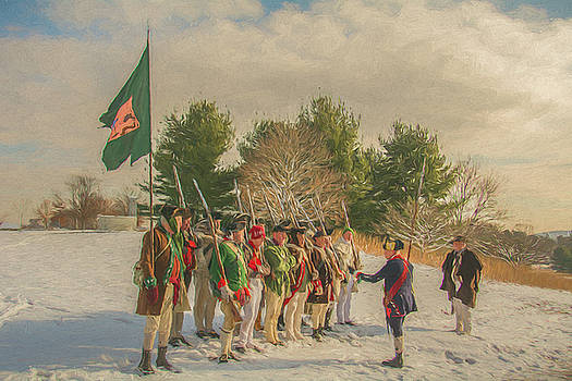 Infantry at Valley Forge by Jeff Oates Photography
