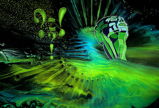 Robert G Kernodle - Infinite Imagination The Thinker