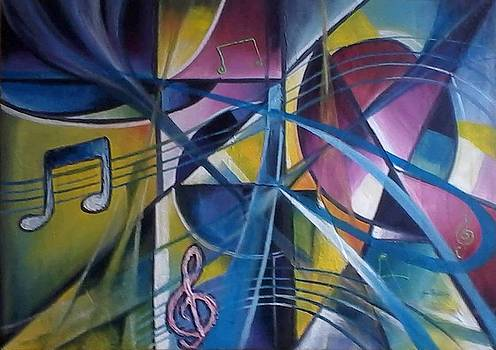Infinite Music Abstract by Olaoluwa Smith