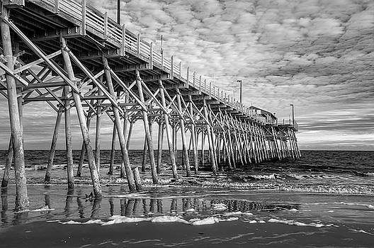 Infrared at Garden City Pier by Cathie Crow