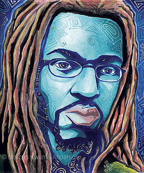 Infused with the Blues by Marcus Kwame Anderson