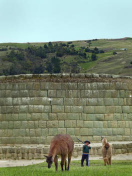 Ingapirca Incan Ruins 111 by Jeff Brunton