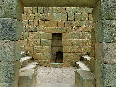 Ingapirca Incan Ruins 91 by Jeff Brunton