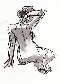 Judith Kunzle - Crossed Feet