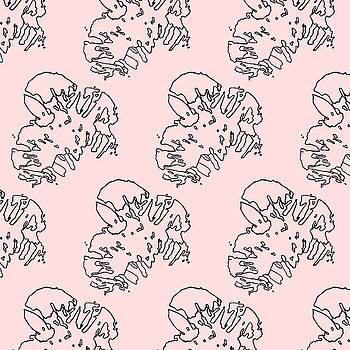 Ink Flower Pattern 1 by Cortney Herron