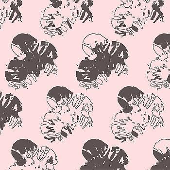 Ink Flower Pattern 1 Multi by Cortney Herron