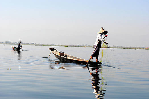 Inle Lake, Myanmar by Nate Stein
