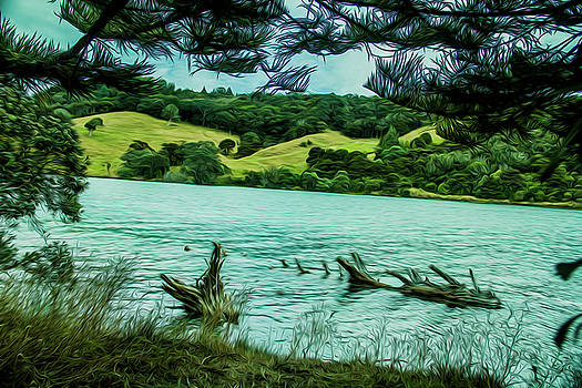 Inlet by Stuart Manning