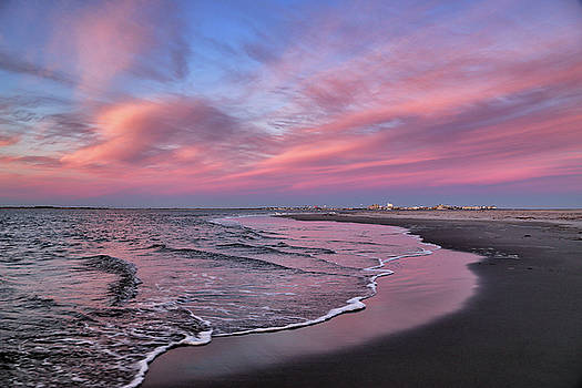 Inlet Sunset by John Loreaux