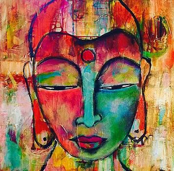 Inner Buddha  by Corina Stupu Thomas