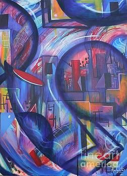 Inner City by Ruben Archuleta - Art Gallery
