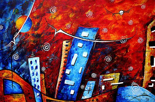 Inner Sanctuary by MADART by Megan Duncanson
