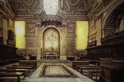 Inner Vatican... by Chris Hood