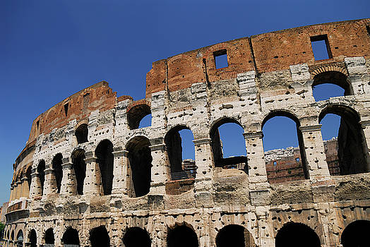 Reimar Gaertner - Inner wall of the Colosseum or Flavian Amphitheatre in Rome