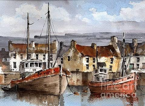 Val Byrne - Innismore Harbour, Aran, Galway.