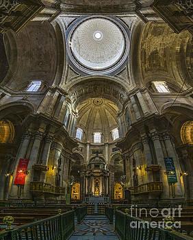 Inside Cadiz Cathedral Cadiz Spain by Pablo Avanzini