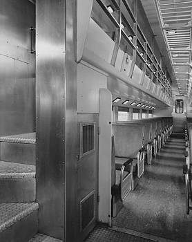 Chicago and North Western Historical Society - Inside Car #47 - 1959