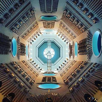 Inside #leedsarmouries On A Bright Blue by Dante Harker