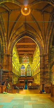 Inside Paisley Abbey by Tylie Duff