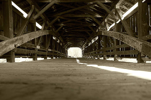 Inside Perrine's Bridge by Jeff Severson