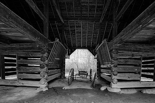 Inside The Barn by Steven Ainsworth