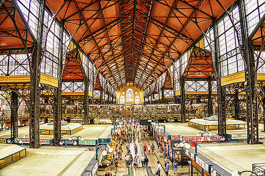 Inside the Budapest Marketplace by Janis Knight