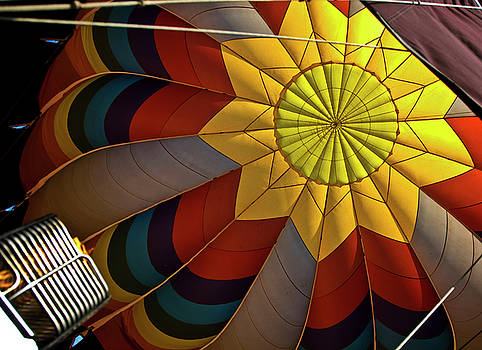 Inside The Heart of a Hot Air Balloon by Frank Feliciano