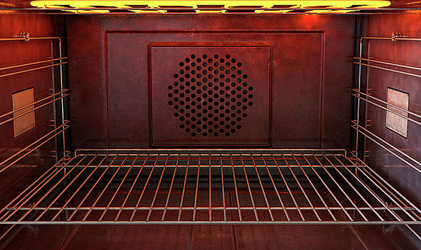 Inside The Oven Front by Allan Swart