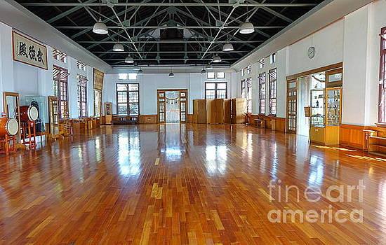 Inside the Wu De Martial Arts Hall by Yali Shi