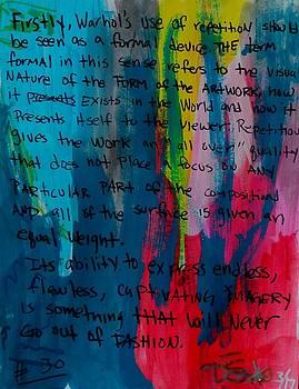 Inspiration From Warhol by Dane Newton
