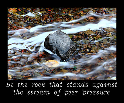 INSPIRATIONAL-Be the rock by Brian Pflanz