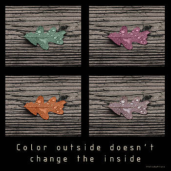 Inspirational poster-COLOR OUTSIDE by Brian Pflanz
