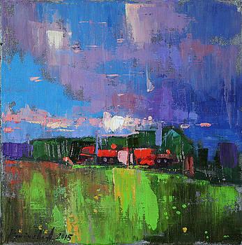 Inspired  by Anastasija Kraineva