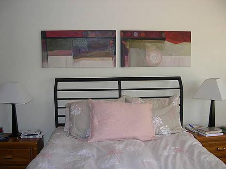 Marlene Burns - installation duo