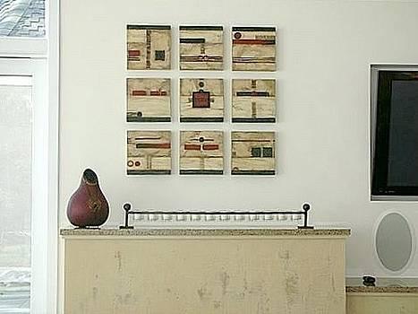 Marlene Burns - installation nine