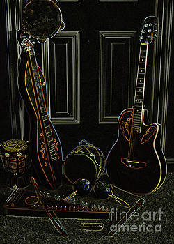 Instruments Aglow by Lydia Holly