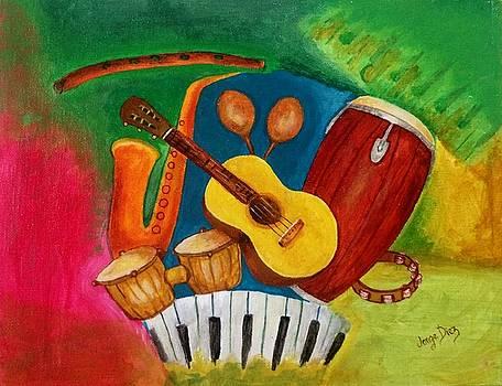 Instruments by Jorge Diez