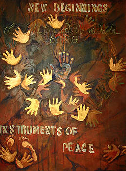 Instruments of Peace by Michele Hollister - for Nancy Asbell