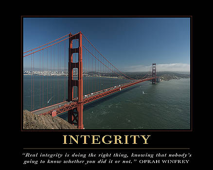 David Simchock - Integrity Motivational Quote