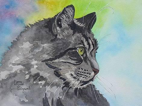 Intent Tabby by Lynne Hurd Bryant