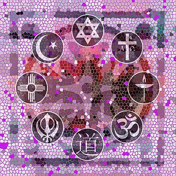 Interfaith Art 13 by Dyana  Jean